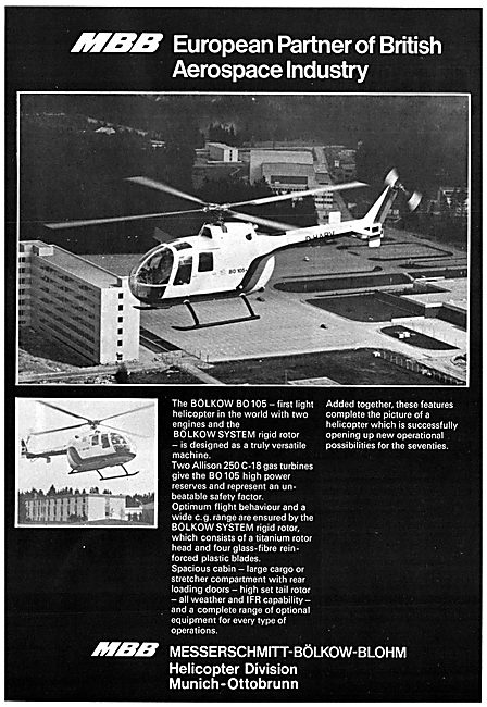 MBB Bolkow BO 105