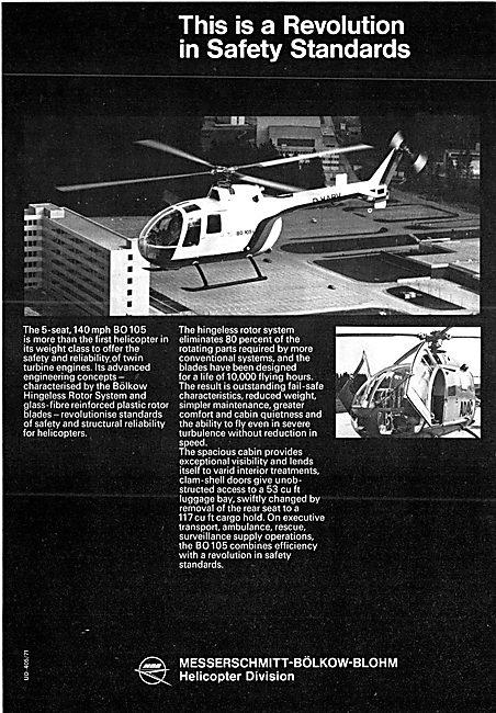 MBB Messerschmitt-Bolkow-Blohm BO 105