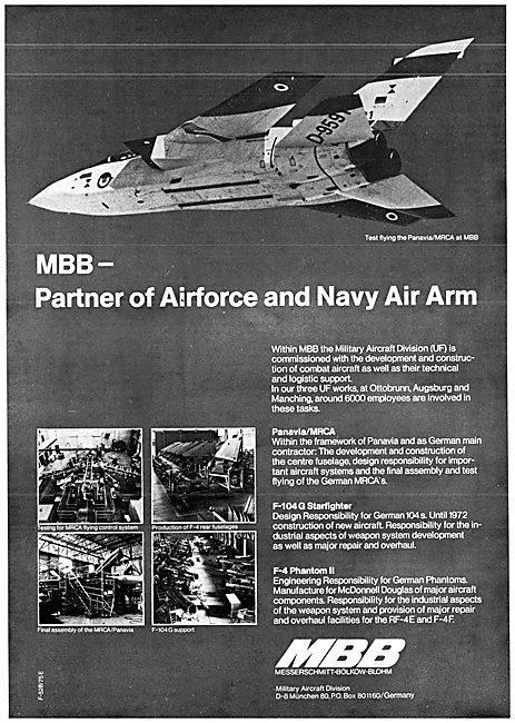 MBB Panavia Partner 1975