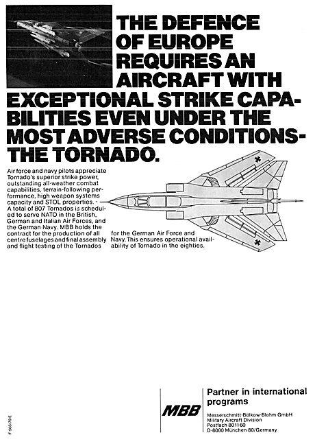 Messerschmitt-Bolkow-Blohm MBB Tornado Partner