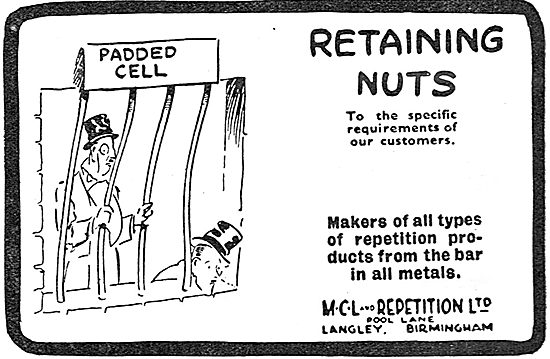 MCL And Repetition - Retaining Nuts