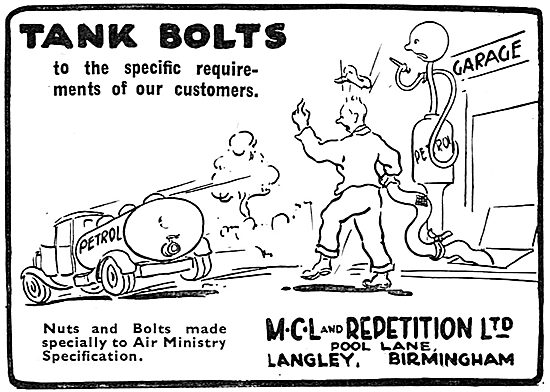 MCL And Repetition -  Tank Bolts