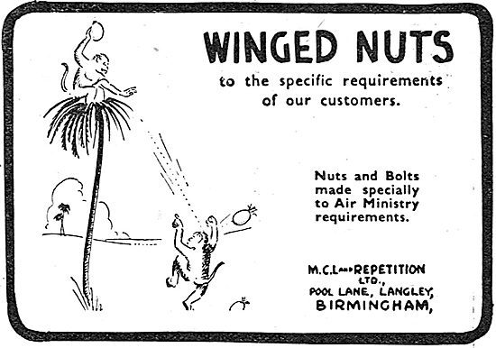 MCL And Repetition - Winged Nuts