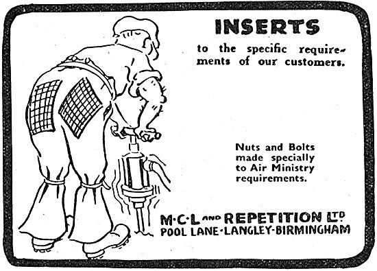 MCL And Repetition - Inserts