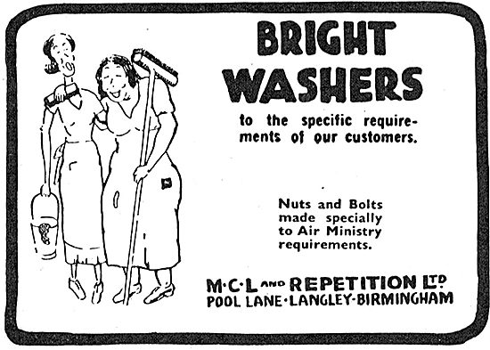 MCL And Repetition - Bright Washers