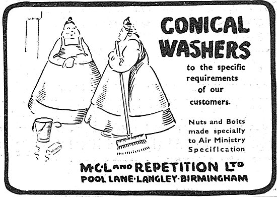 MCL And Repetition - Conical Washers