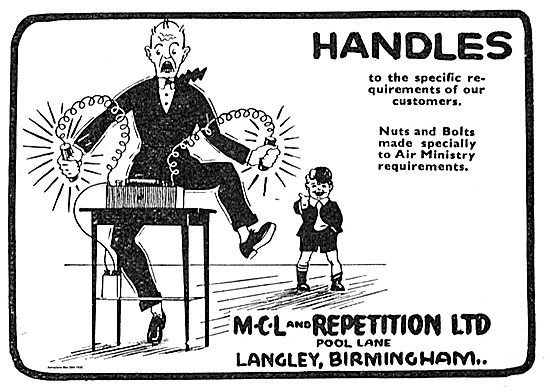 MCL And Repetition Langley Birmingham. Nuts, Bolts Handles.