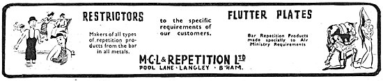 MCL & Repetition Products From The Bar