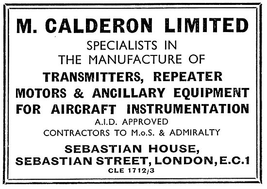 M.Calderon - Radio & Electrical Manufacturers