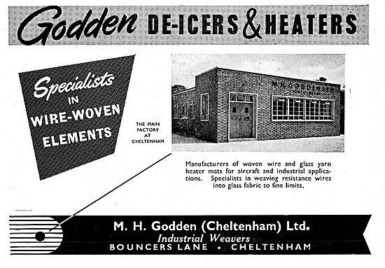 M.H.Godden Woven Wire & Glass Yarn De-Icer & Heater mats