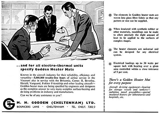 M.H.Godden Electro-Thermal De-Icing Heater mats