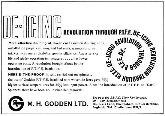 M.H.Godden Propeller & Airframe De-Icing Units