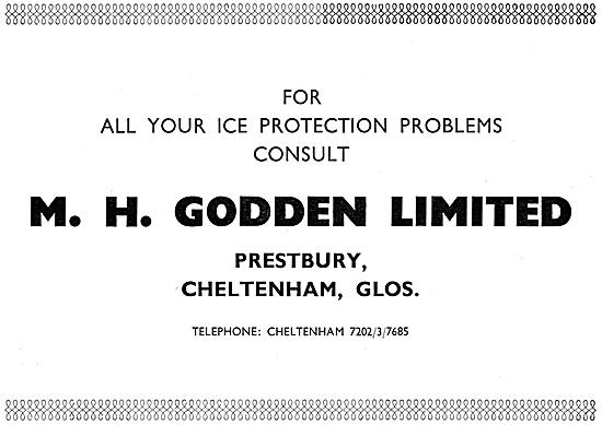 M.H.Godden Ice Protection Equipment 1967
