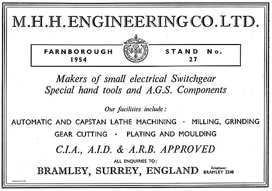 M.H.H. Engineering Automatic & Capstan Lathe Machining