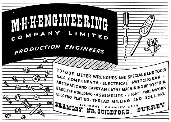 M.H.H. Engineering - Production Engineers - AGS