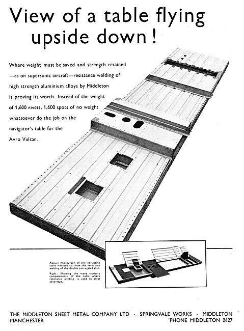 MIddlteon Sheet Metal Co Ltd. Fabrications - Resistance Welding