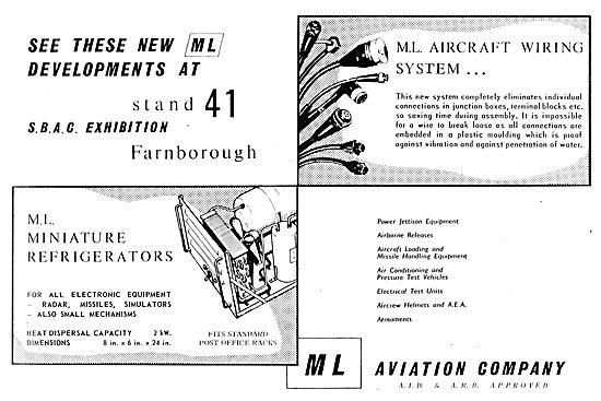 M.L. Aviation - Aircraft Wiring Harnesses & Mini Refrigerators
