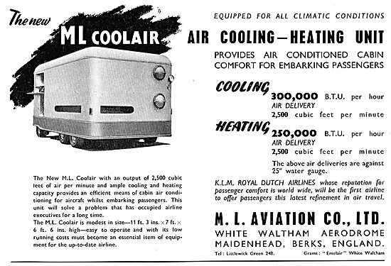 M.L.Aviation ML Coolair Unit
