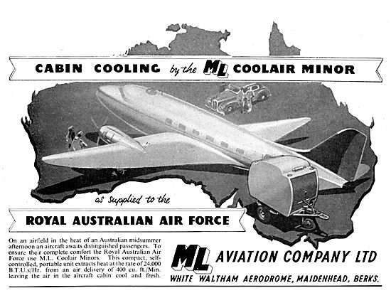 M.L.Aviation ML Coolair Minor Mobile Cabin Cooling Rig