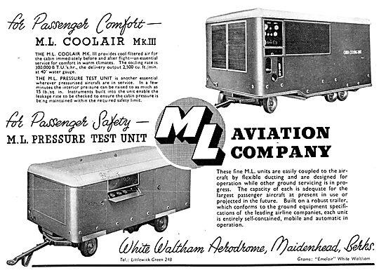 M.L.Aviation ML Mobile Cabin Pressure Test Rig