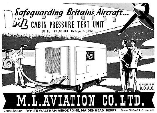 M.L.Aviation ML Mobile Cabin Prssure Test Unit