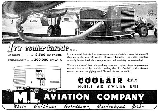 M.L.Aviation ML Coolair Mobile Air Cooling Units