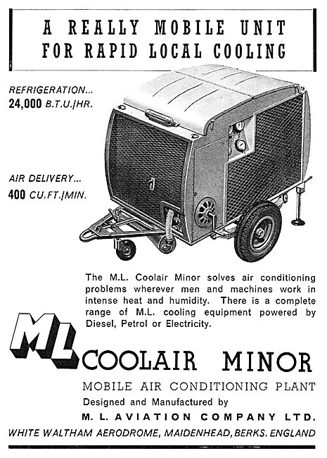 M.L.Aviation ML Coolair Minor Mobile Air Conditioning Plant