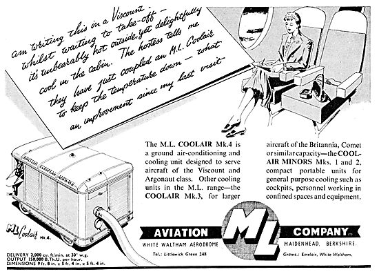 M.L.Aviation ML Coolair Mk4 - Coolair Minor