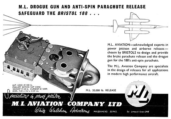 M.L.Aviation MLAircraft Equipment. M.L.Parachute Drogue Gun