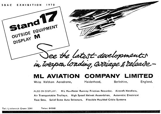 M.L.Aviation ML Aircraft Weapon Loading & Carriage Equipment