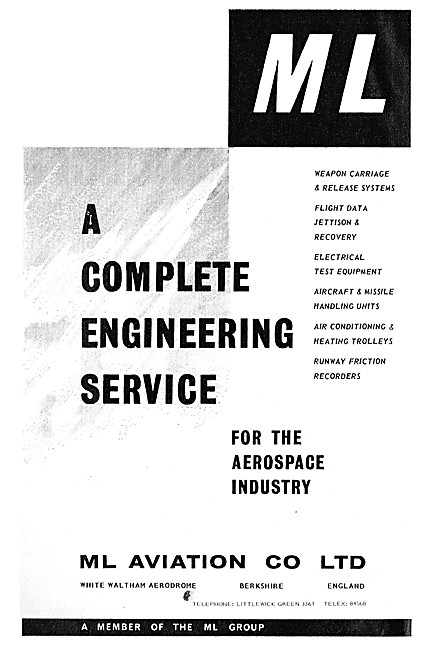 M.L.Aviation ML Engineering Services & Weapons Carriage Systems
