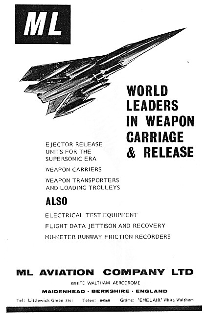 M.L.Aviation ML Weapons Carriers & Handling Equipment