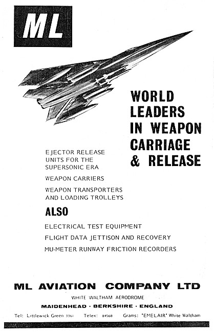 M.L.Aviation ML Weapons Carriage & Release Equipment