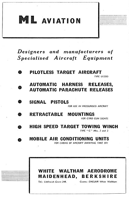M.L.Aviation ML Aviation Specialised Aircraft Equipment