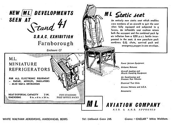 M.L. Aviation - ML Static Aircrew Seats