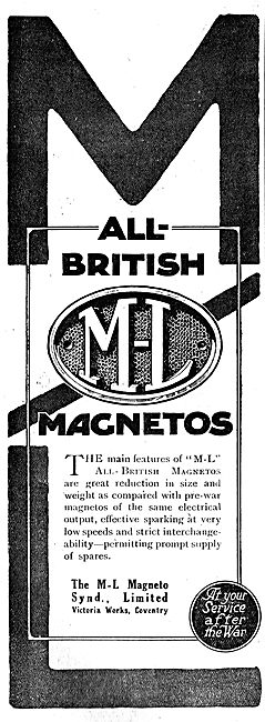 M-L All British Aero Engine Magnetos