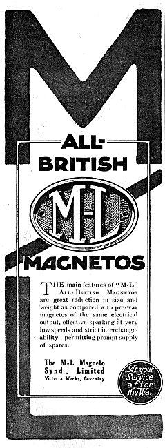M-L All British Aero Engine Magnetos