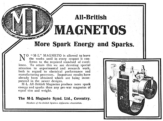 M-L  Aero Engine Magnetos