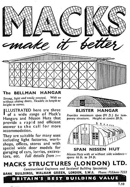 Macks Structures - Bellman Hangars & Nissen Huts