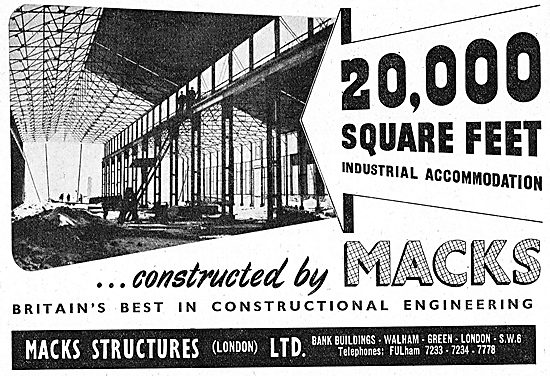 Macks Structures - Hangars & Airfield Buildings