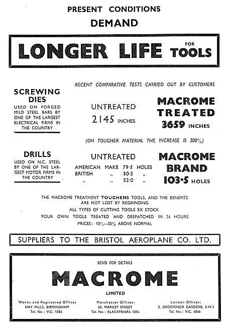 Macrome Screwing Dies