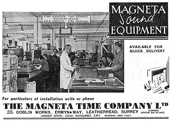 The Magenta Time Company. Magneta Factory Sound Equipment