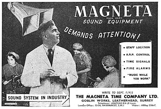 Magenta Sound Equipment For Factory Use