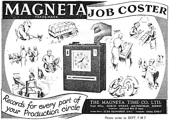 Magenta Time Company - Time Recorders & Job Coster