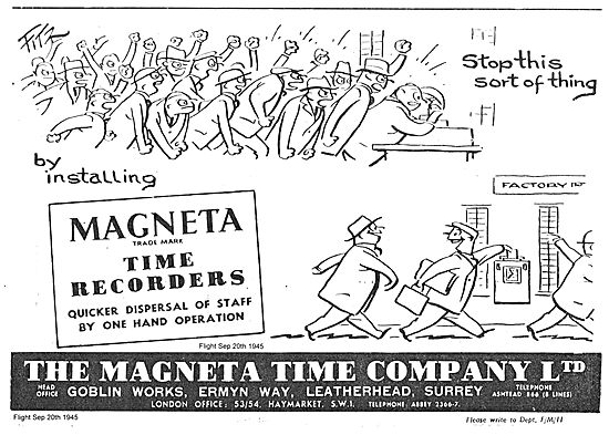 Magenta Factory Time Recorders
