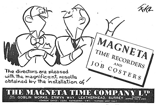 Magenta Job Costers & Time Recorders