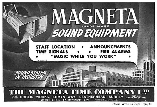 Magenta Sound Systems In Industry
