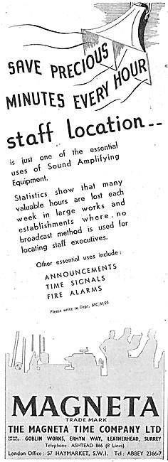 Magenta Staff Location Sound Equipment - Public Address