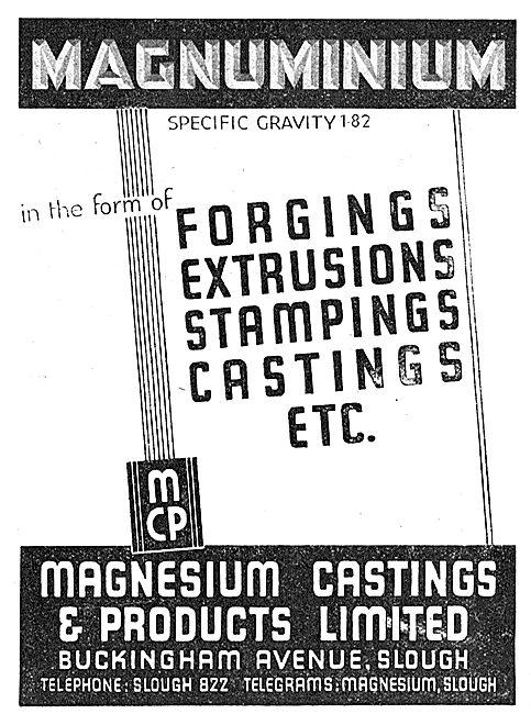 Magnesium Castings - Buckingham Avenue Slough