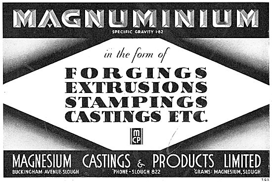 Magnesium Castings - Forgings, Stampings & Extrusions